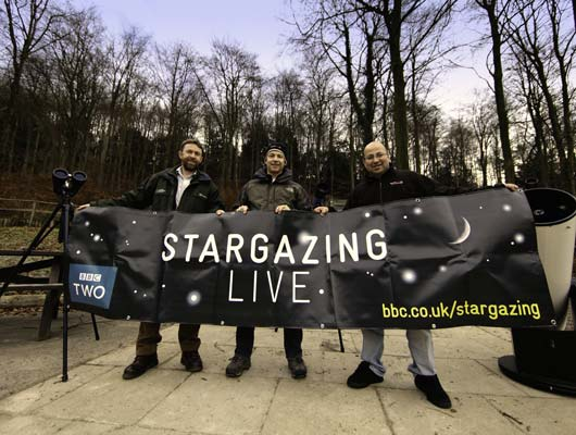 BBC StarGazing LIVE! at Alton in 2011